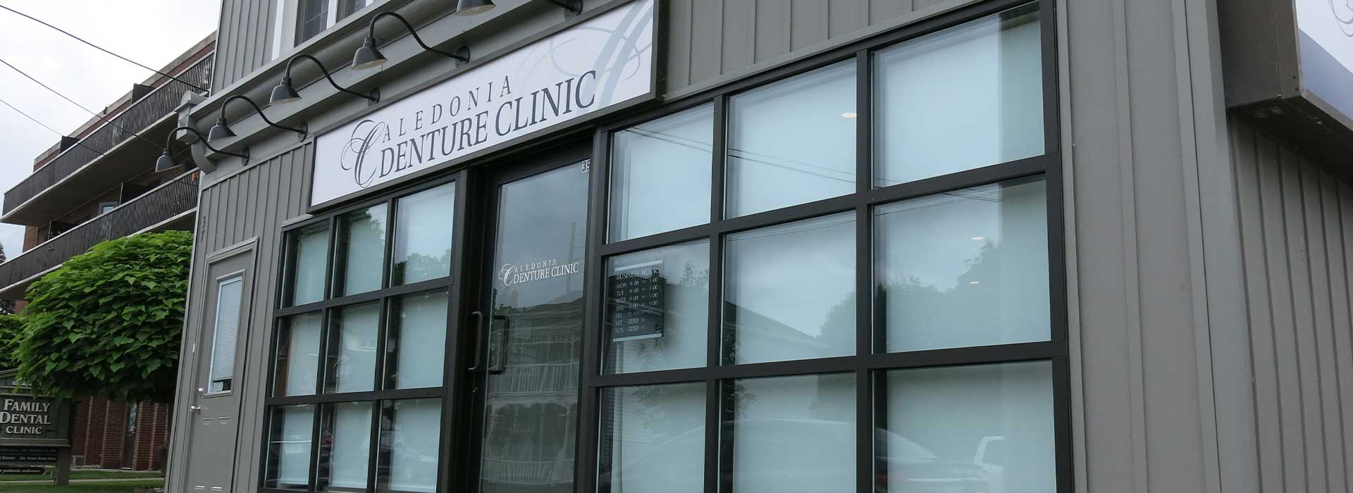 Exterior image of front of Caledonia Denture Clinic